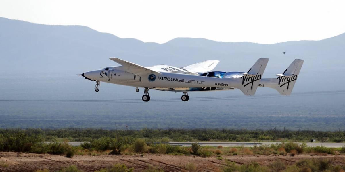 FAA prohíbe viajes al espacio a Virgin Galactic mientras realiza investigación