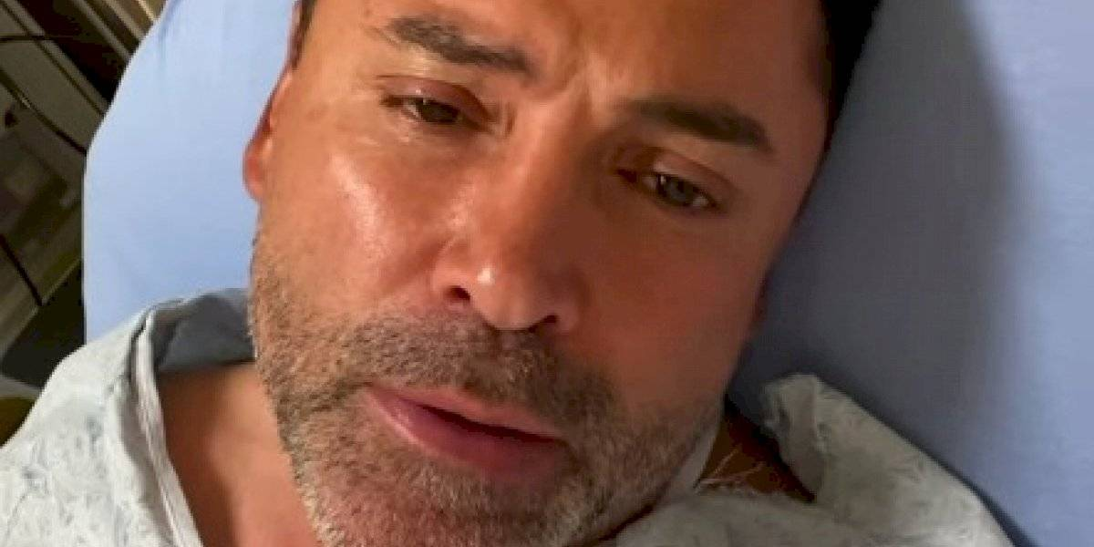 Oscar de la Hoya revela que tiene COVID-19, está hospitalizado