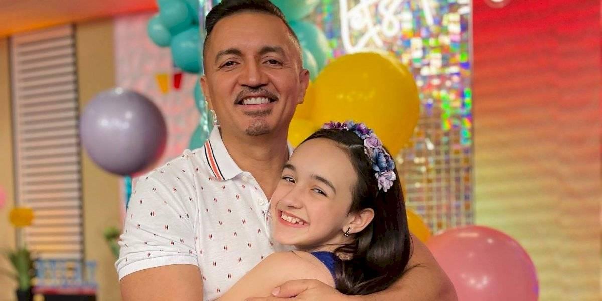 Fotogalería: Así celebraron en Pégate al Mediodía el cumleaños de la nena de Melwin Cedeño