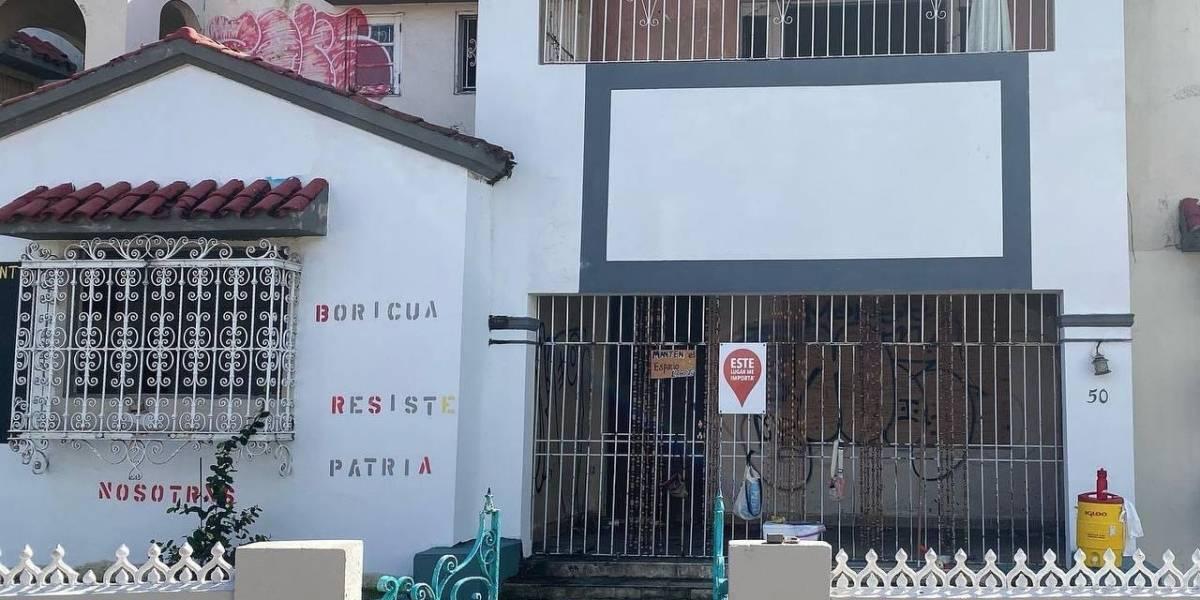 Incendio en antigua residencia de profesores de la UPR en Río Piedras