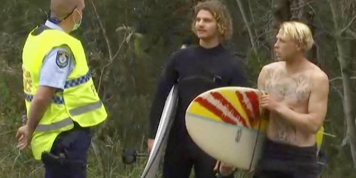 Muere surfista tras ataque de tiburón en Australia