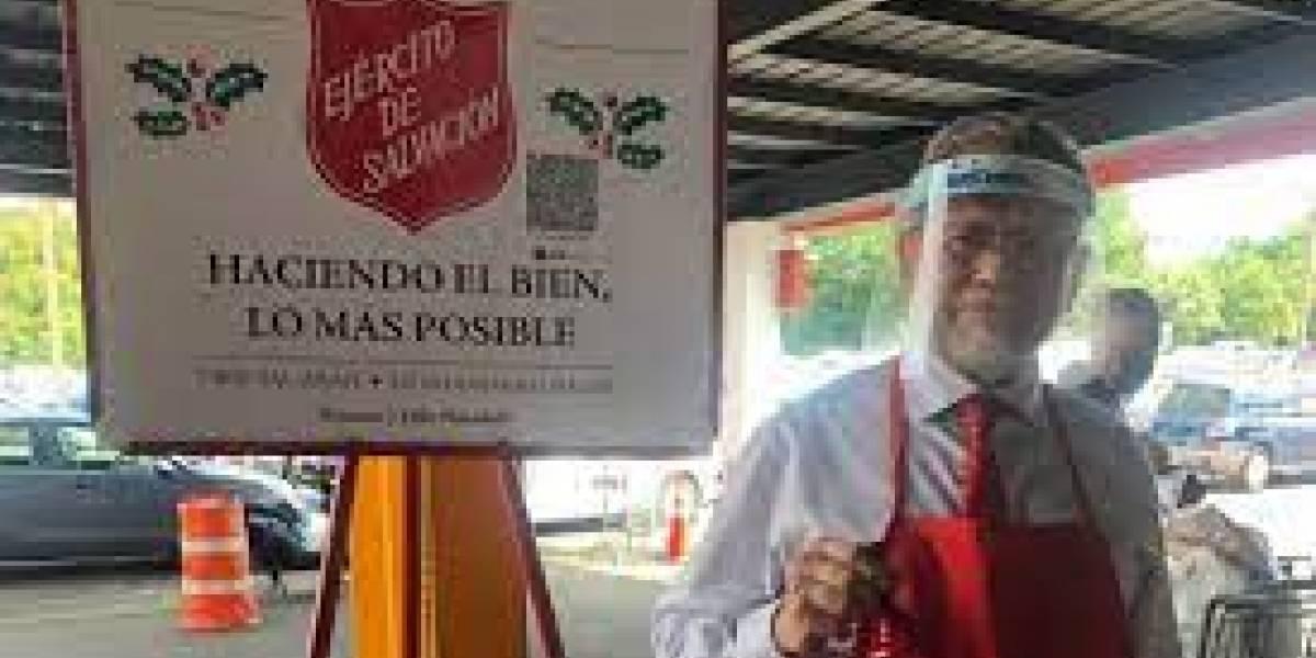 Ejército de Salvación dedicará la campaña de esta navidad a Efrén Arroyo