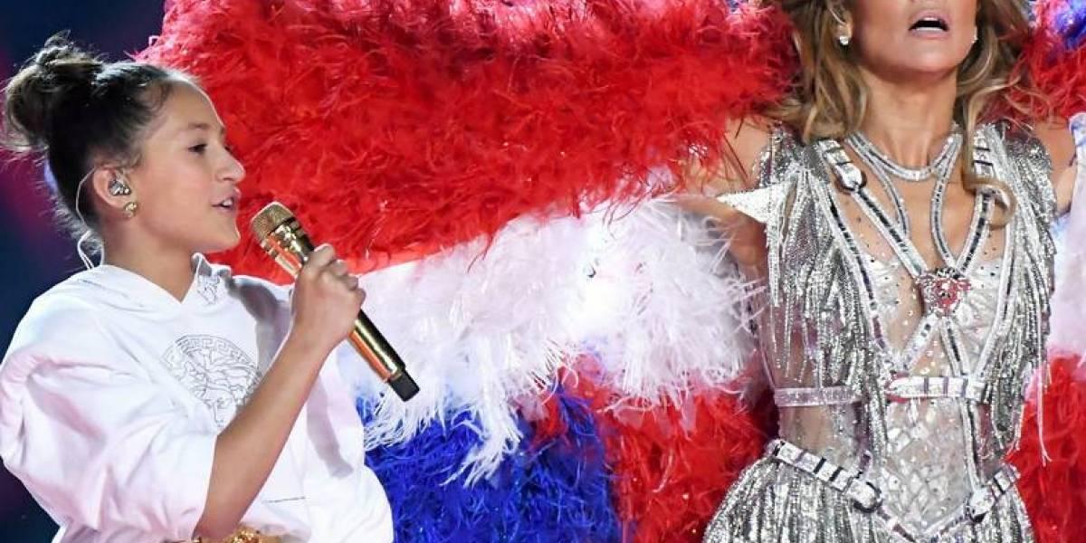Así ha sido la impresionante transformación de Emme, la hija de Jennifer Lopez, desde el Super Bowl