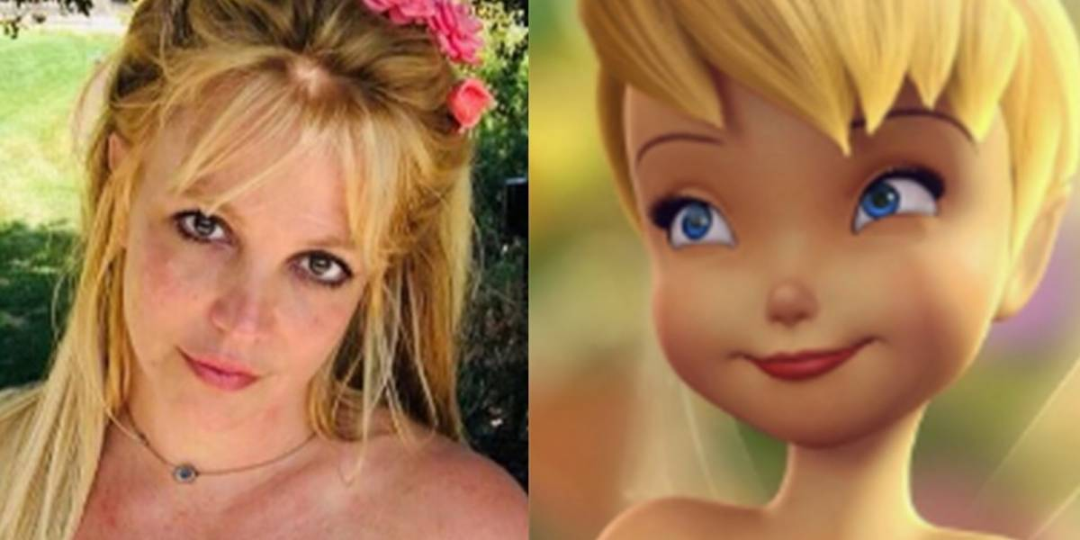 Britney bromeó con la idea de ser la nueva Tinker Bell de Tim Burton