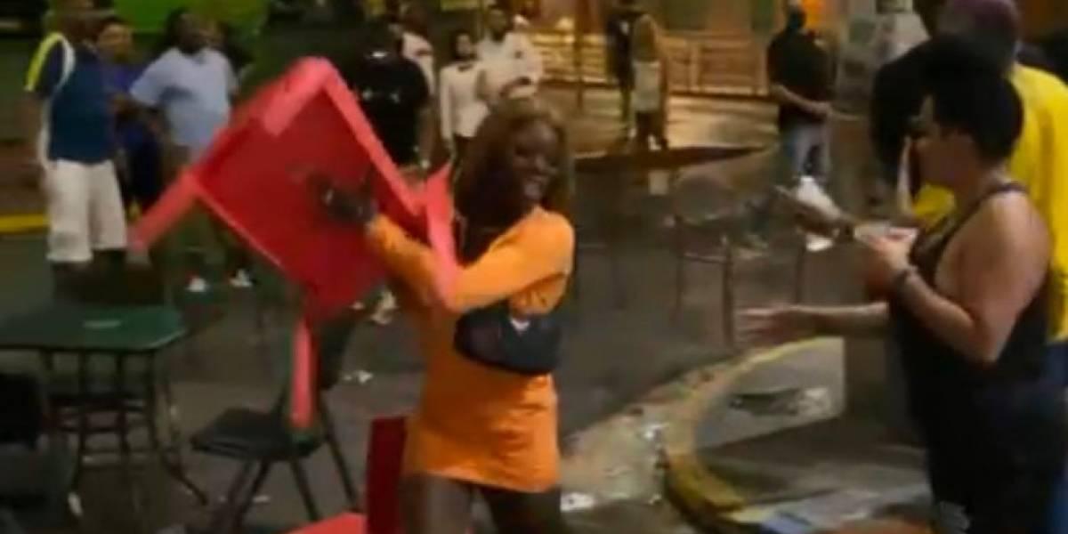 Turistas protagonizan pelea en la Placita de Santurce