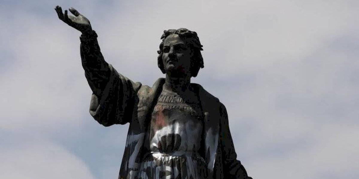 México retirará estatua de Cristóbal Colón