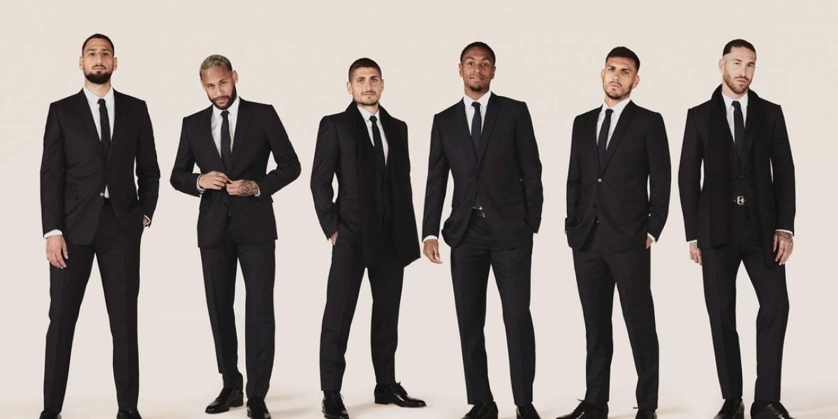 Jugadores del PSG lucirán elegantes y versátiles trajes de Dior