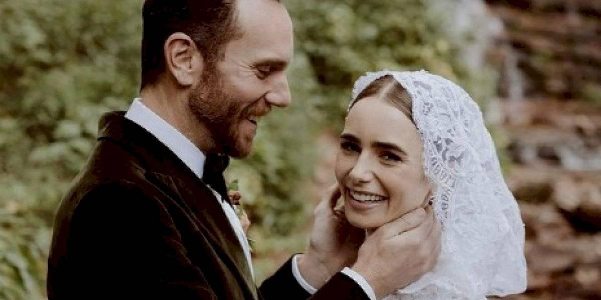 """Actriz de """"Emily in Paris"""" se casa en ceremonia secreta"""