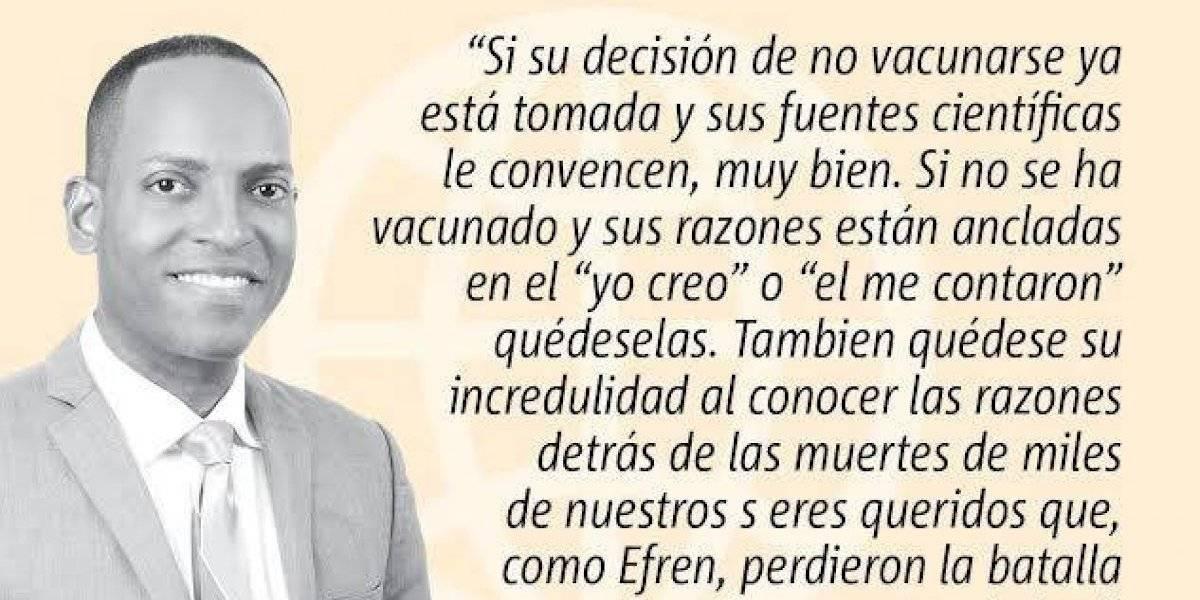 """Opinión de Julio Rivera Saniel: """"No murió de eso na', nos quieren engañar"""""""
