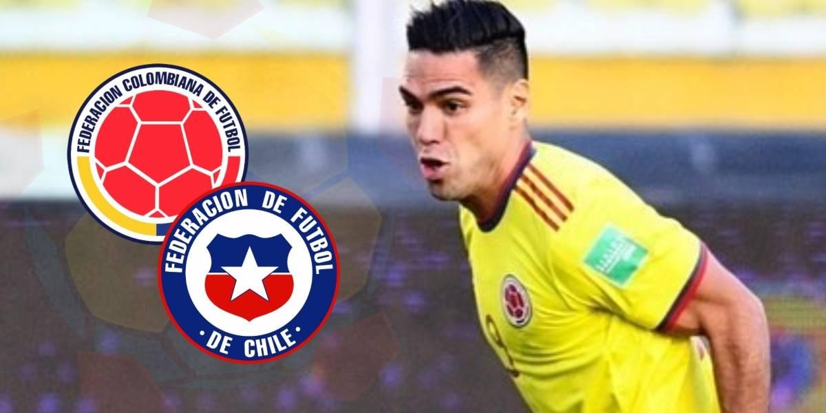IMAGEN   Mensaje de Falcao García antes de Colombia VS Chile ...