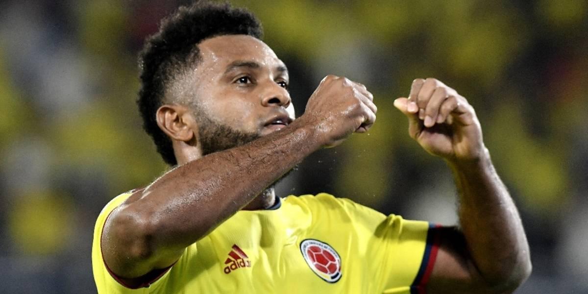 VIDEO   Miguel Borja lloró en los himnos del partido Colombia VS ...