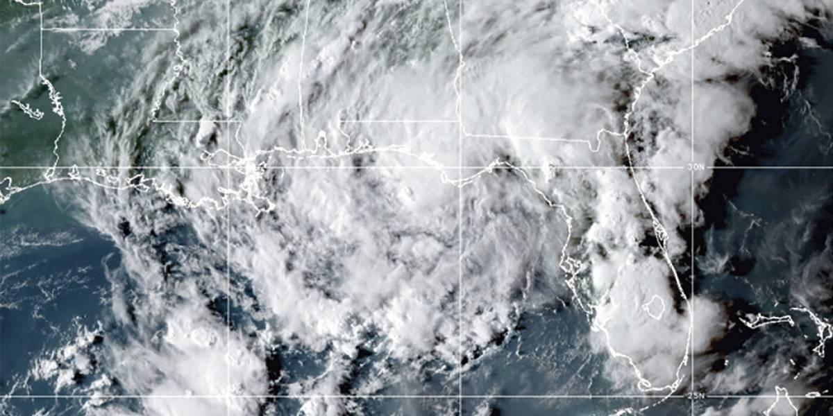 Mindy se debilita a depresión tropical sobre el estado de Georgia