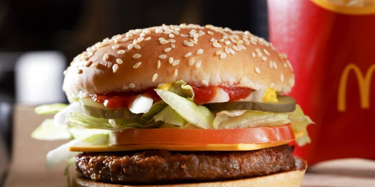 McDonald's lanza hamburguesa vegana en Reino Unido e Irlanda