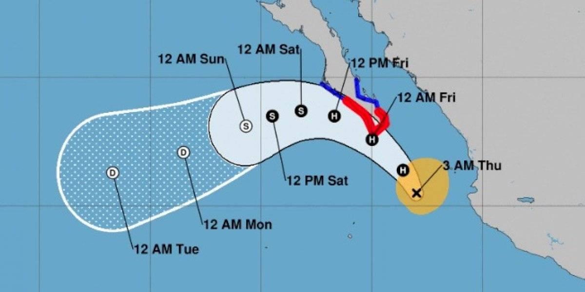 Olaf se convierte en huracán en el Pacífico