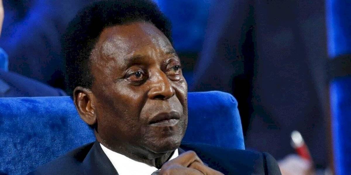Pelé se recupera de manera satisfactoria; permanece en UCI