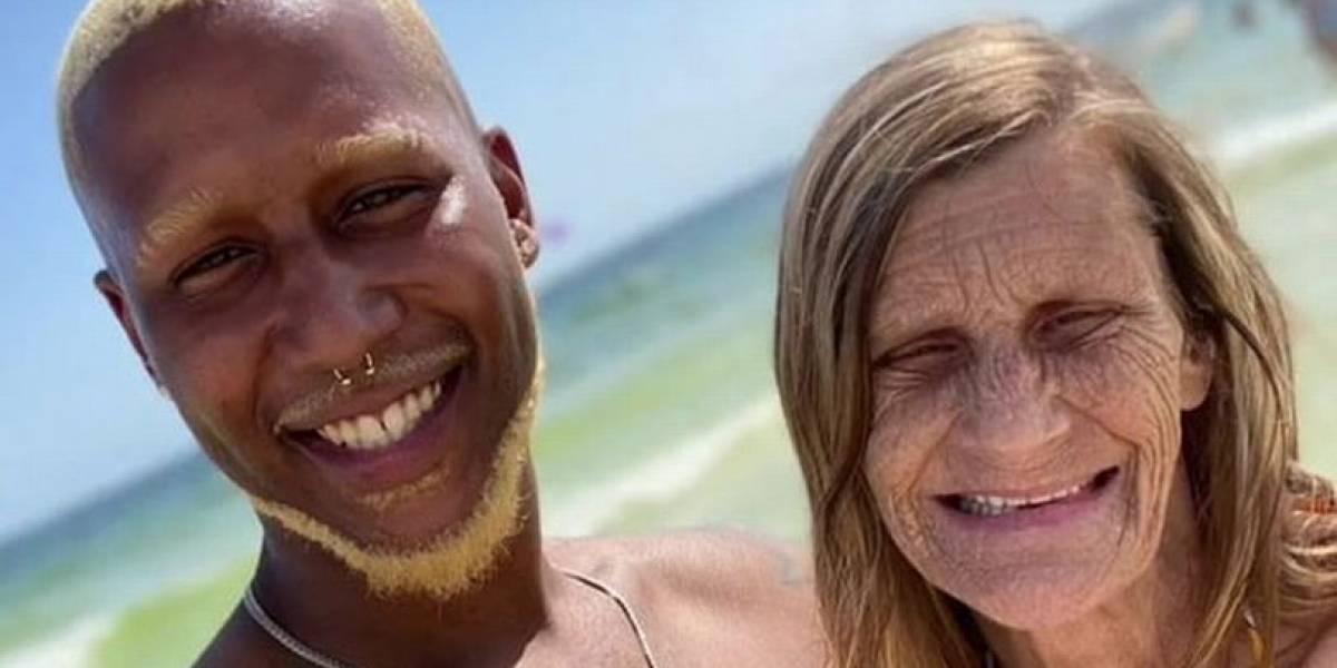 Pareja con 37 años de diferencia abrió página en OnlyFans luego de casarse