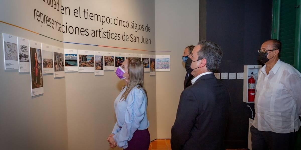 Inauguran históricas exhibiciones por los 500 años de San Juan