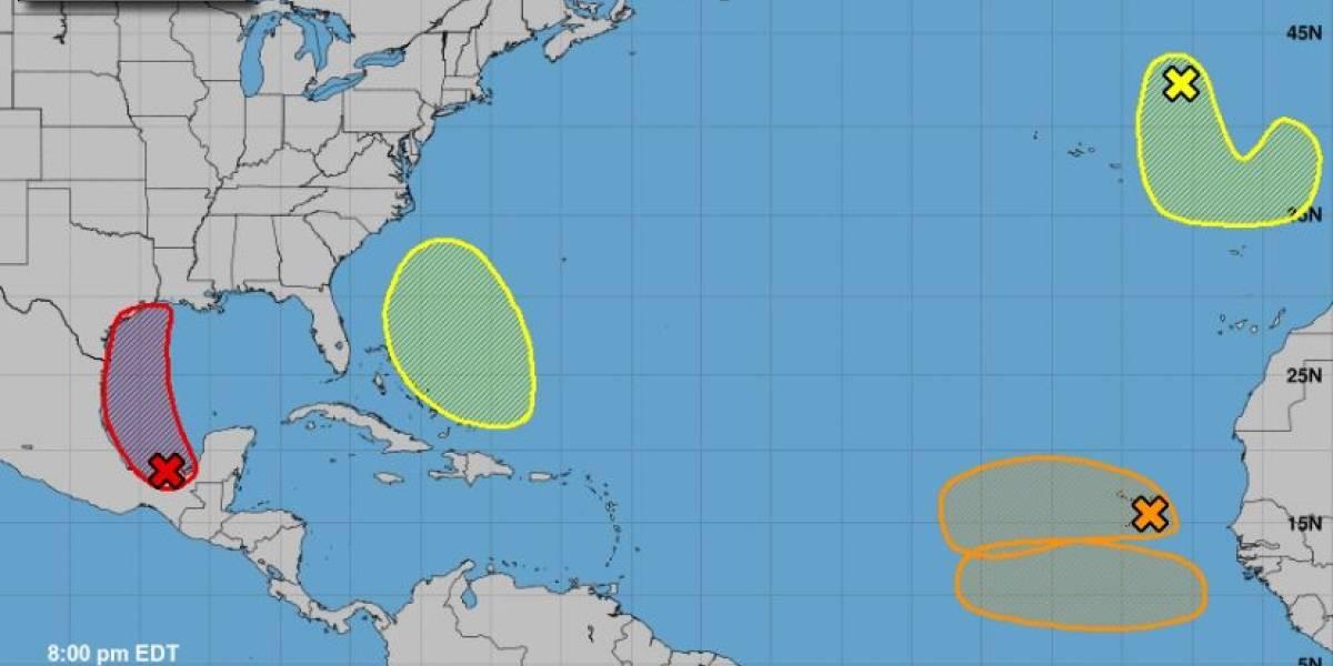 Bajo observación del Centro Nacional de Huracanes cinco sistemas en el Atlántico