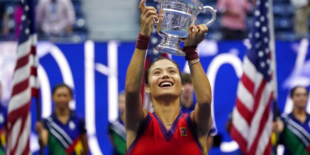 Raducanu frena a Fernández y es monarca del US Open