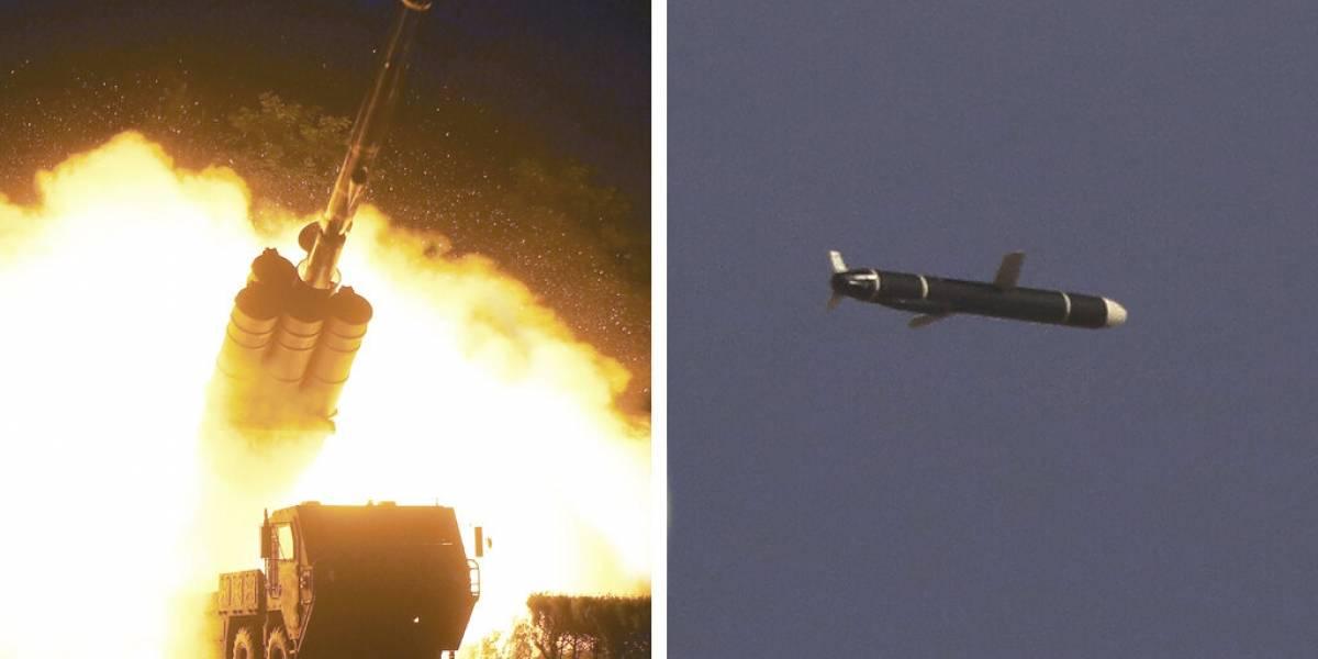 Corea del Norte dice que probó misiles crucero de largo alcance