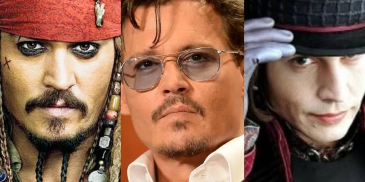 Johnny Depp se transforma en 'Jack Sparrow' nuevamente y emociona a sus fans