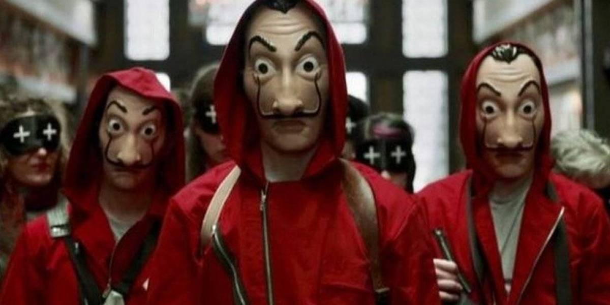 Dos menores se disfrazan como en La Casa de Papel y desatan el pánico en un pueblo de Italia