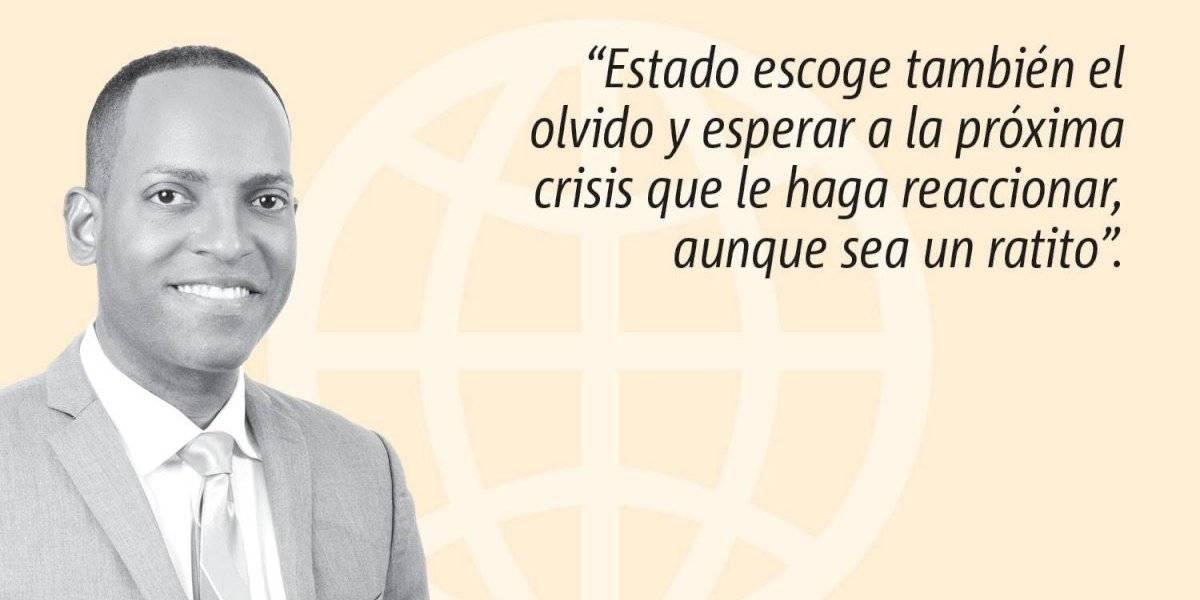 """Opinión de Julio Rivera Saniel: """"Hay un plan. Lo que no hay es Gobierno"""""""
