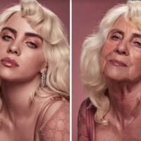 Así lucirían las celebridades si fueran 40 años más viejas