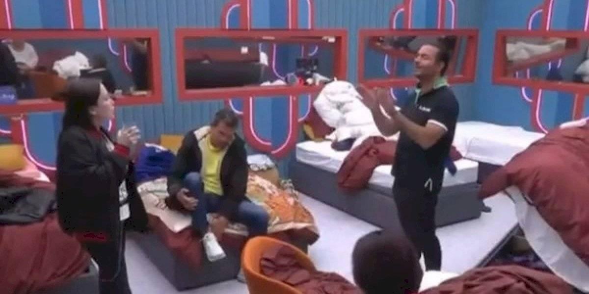 """¡Fuerte encontronazo! Pablo Montero enfrenta a Celia Lora de """"La casa de los famosos"""""""