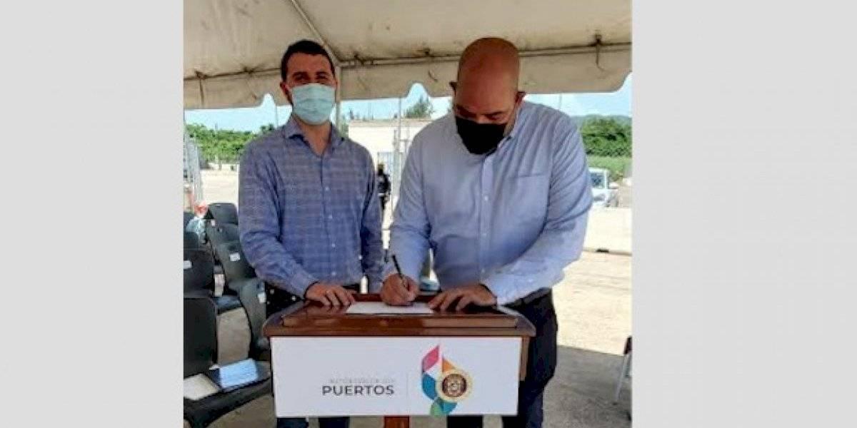 Puertos y LMA Aviation firman contrato para uso por 10 años de instalaciones en aeropuerto de Ceiba