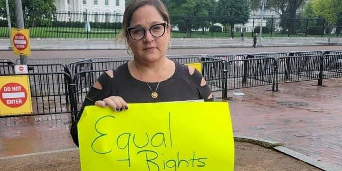 Melinda Romero no le dan los $90 mil como delegada para vivir