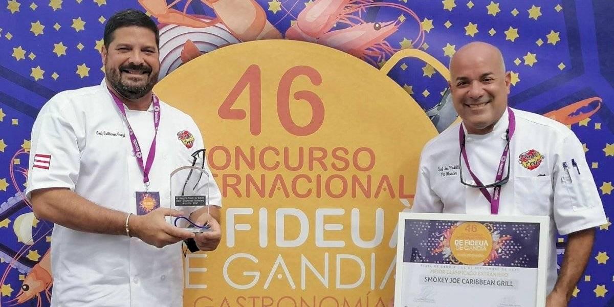 Dos chefs boricuas llevan la sazón de Luquillo a otro nivel en España