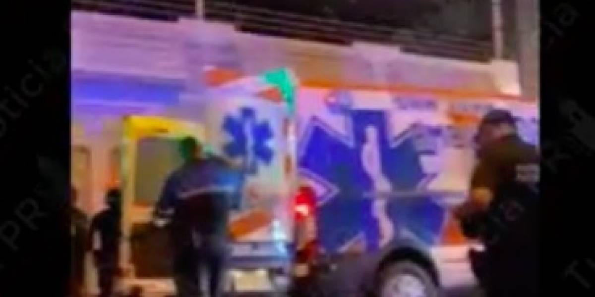 Otra pelea con policía herida en Placita de Santurce
