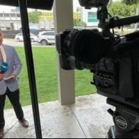 """""""Somos cuatro"""": Reportero de Wapa TV vuelve a convertirse en padre"""