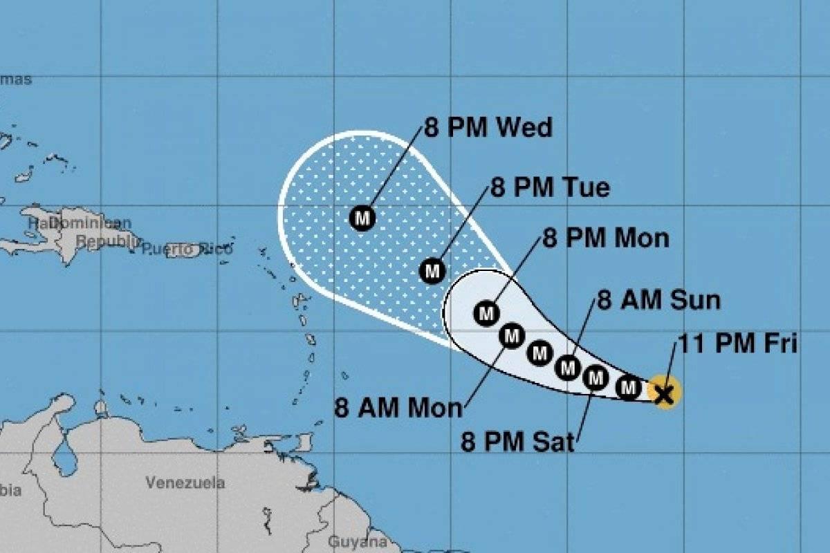 Sam se convierte en un huracán categoría 2