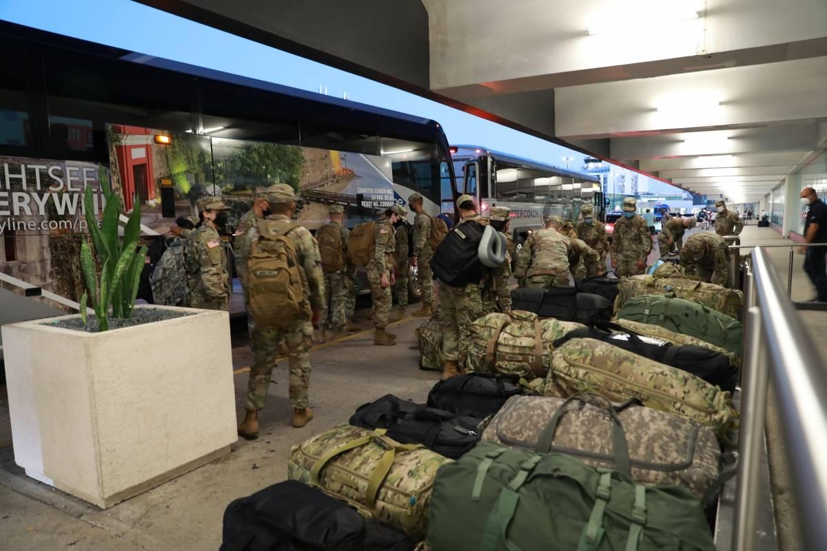 Soldados boricuas son movilizados al Medio Oriente