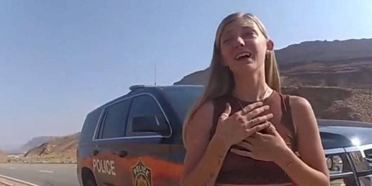 Revelan nuevo video en que Gabby Petito admite a policía que novio la golpeó