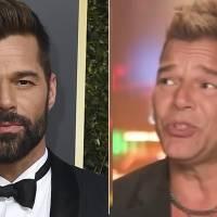Ricky Martin enfrenta ola de críticas al lucir un rostro diferente