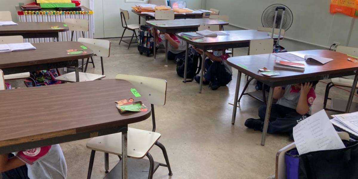 Escuelas del PES enfatizan en desarrollo de conciencia sísmica