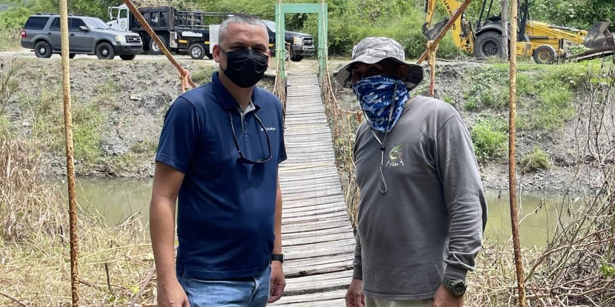 Realizan esfuerzo comunitario para restaurar Puente de la Hamaca en Guánica