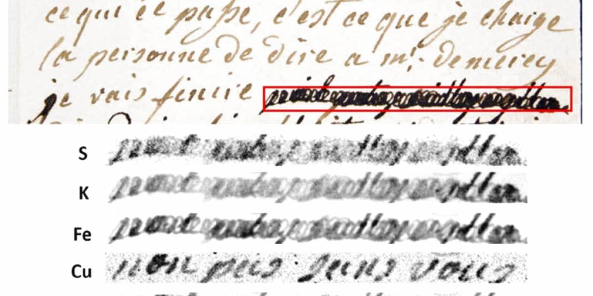 Científicos descifran cartas censuradas de María Antonieta