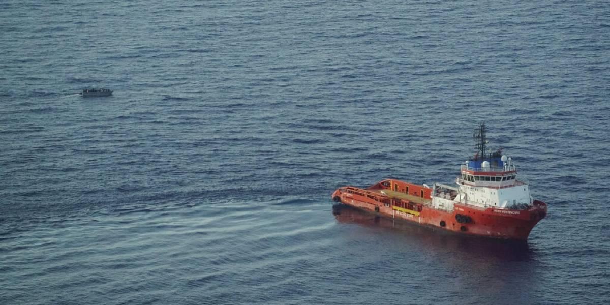Rescatan a 65 migrantes en el Mediterráneo