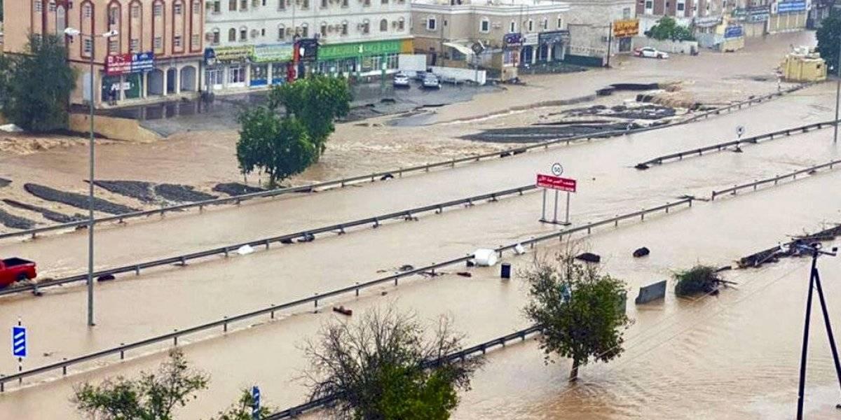 Se adentra en Omán: El ciclón Shaheen deja 13 muertos