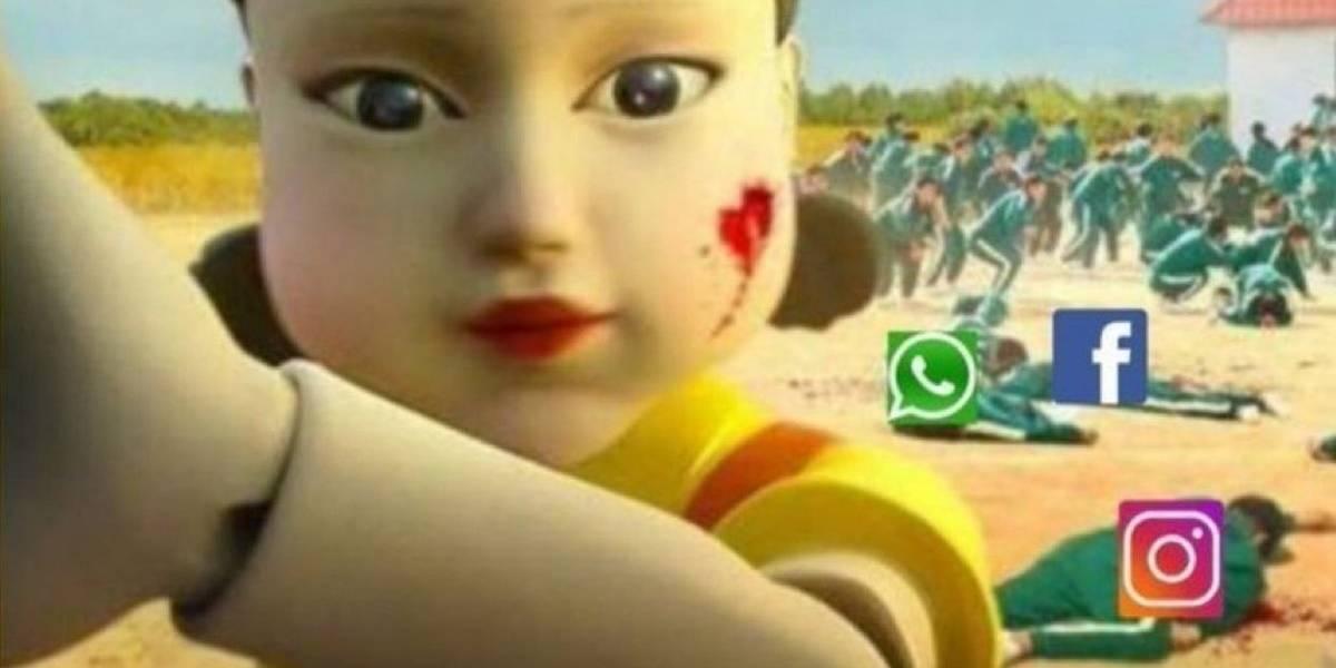 Los memes que deja caía a nivel mundial de Facebook, Instagram y WhatsApp