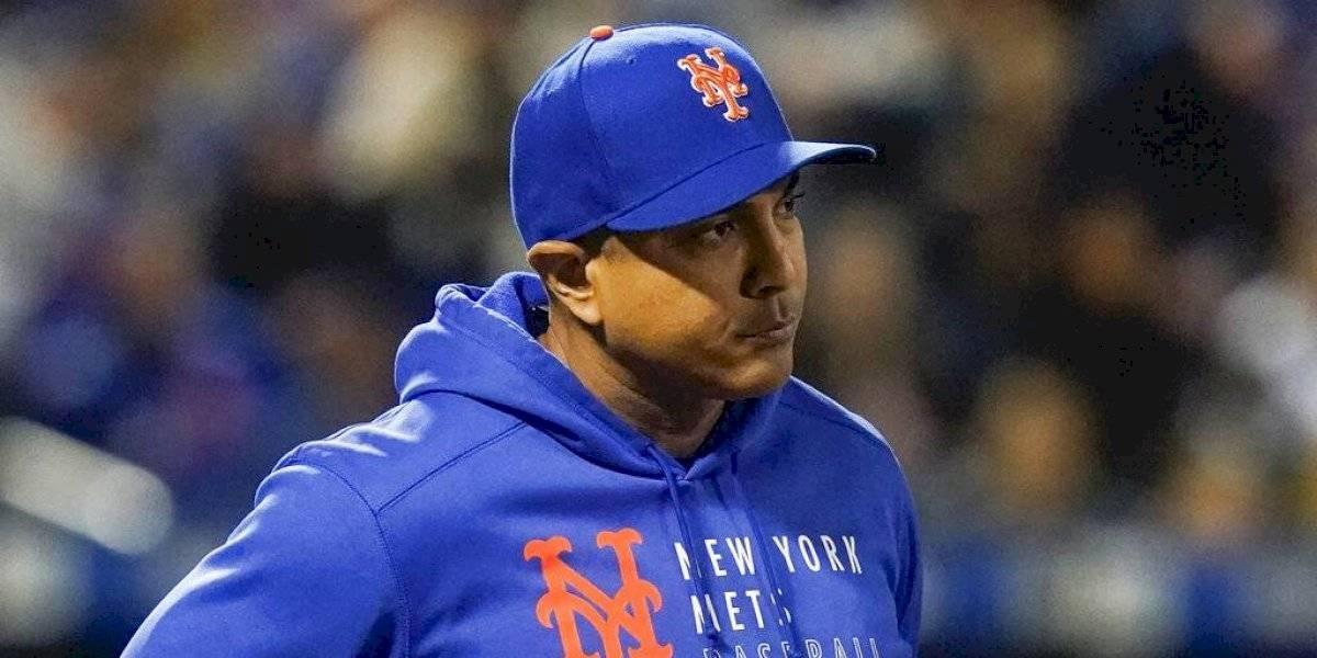 Despedido Luis Rojas como mánager de los Mets de Nueva York