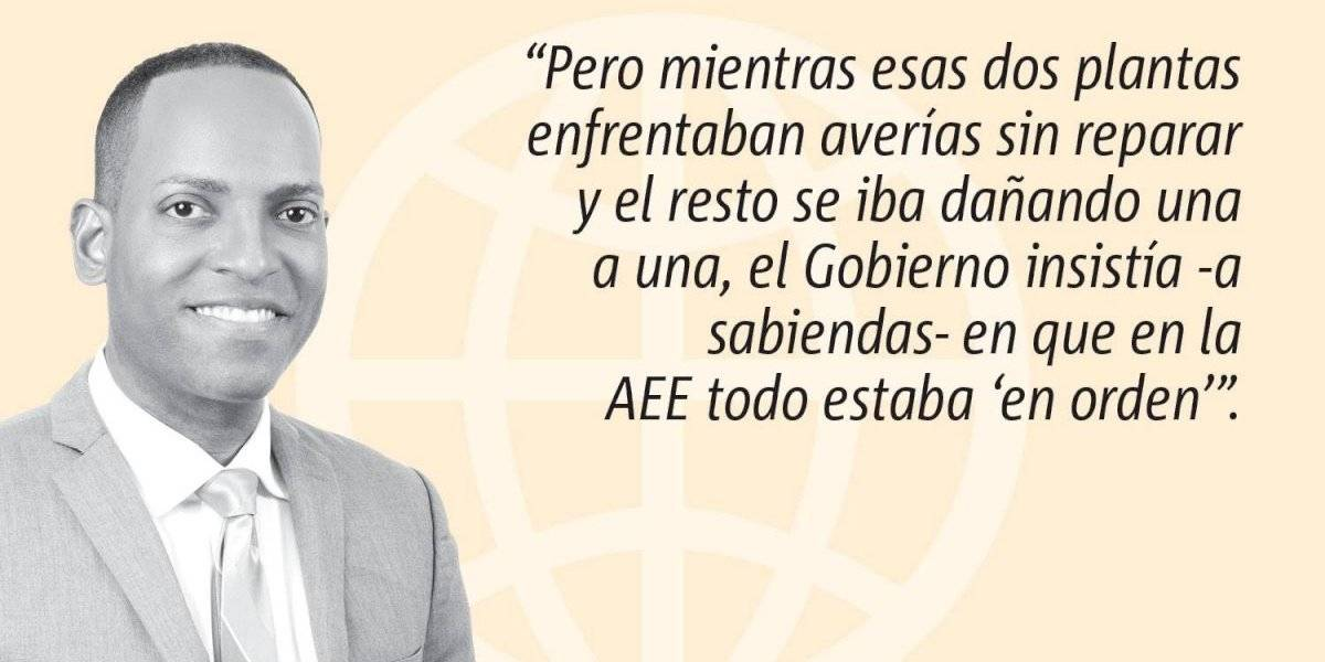 """Opinión de Julio Rivera Saniel: Y eso, que el mantenimiento era """"adecuado"""""""