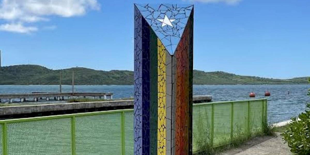Inaugurarán monumento que celebra la diversidad en Boquerón