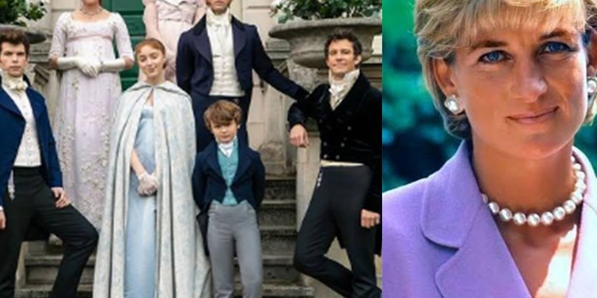 Descubre la conexión que hay entre Diana de Gales y la serie Bridgerton