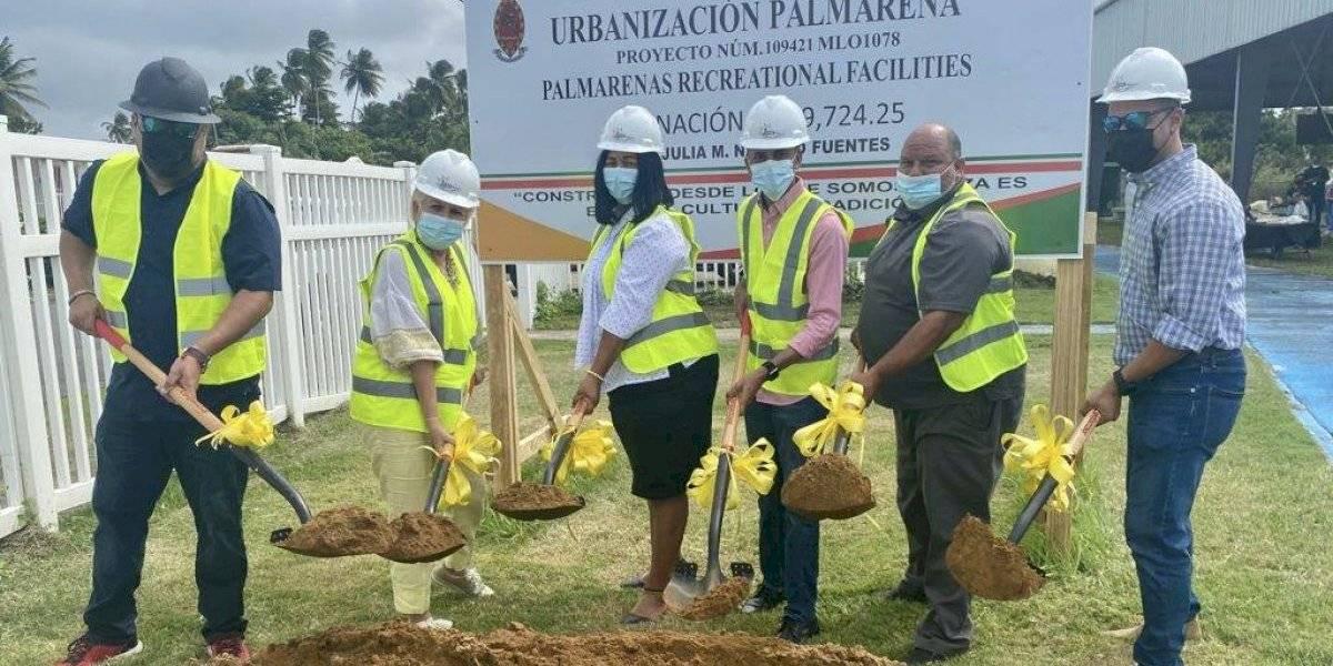 Loíza inicia reconstrucción de facilidades deportivas en dos comunidades