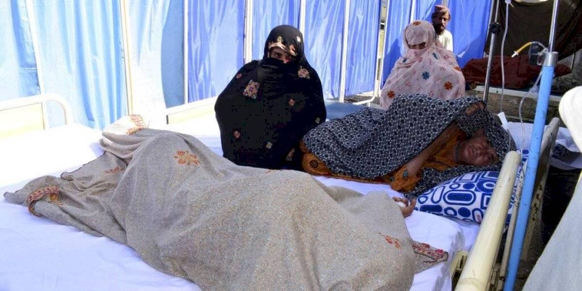 Al menos 20 muertos y cientos de heridos tras sismo en Pakistán